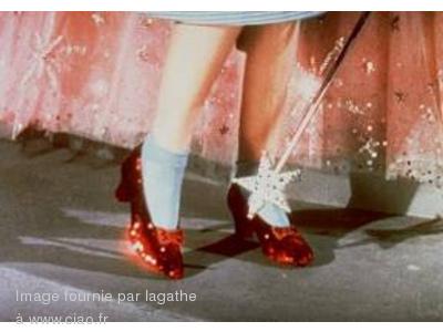 chaussures magicien d'Oz