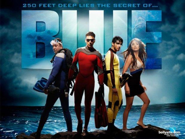 blue affiche