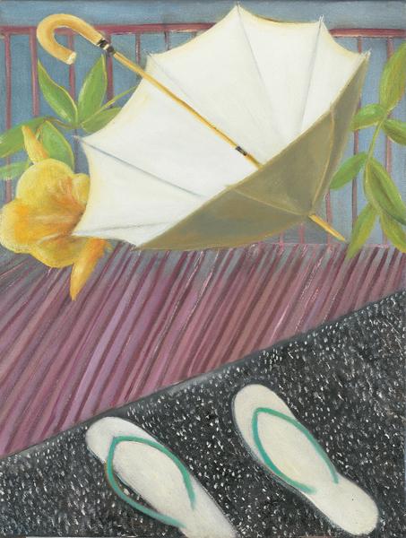 Sosa Joseph, Object Lessons, 2009, Oil on cancas, 30x40 cm 3
