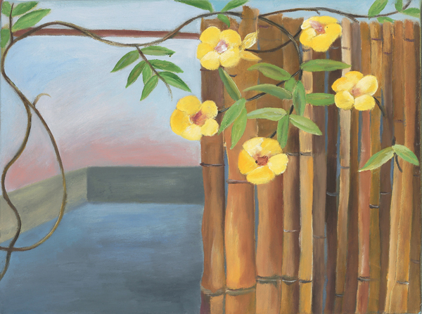 Sosa Joseph, Object Lessons, 2009, Oil on cancas, 30x40 cm 4
