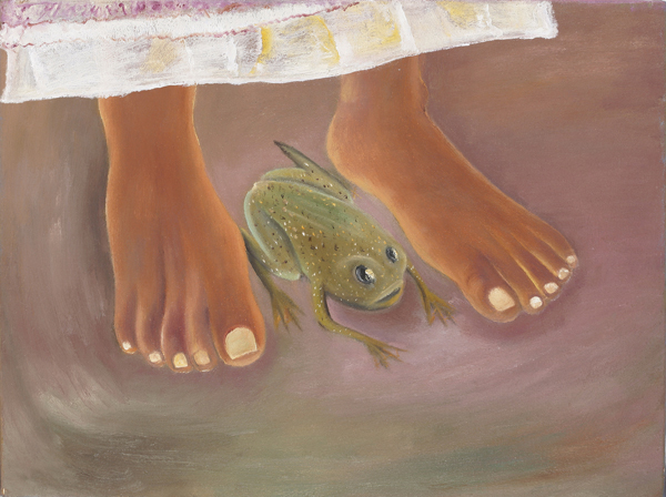 Sosa Joseph, Object Lessons, 2009, Oil on cancas, 30x40 cm